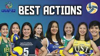 Top 10 Best Volleyball Actions | UAAP 82 | Part I