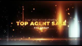 DSK Group July 2021 Top 10 Agent Sale Award