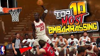 """TOP 10 """"MOST EMBARRASSING"""" Plays Of The Week #41 - NBA 2K20 Highlights"""