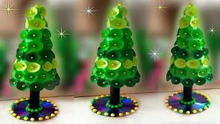 handmade christmas tree decorations ideas / beautiful christmas tree / diy christmas tree craft