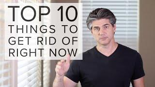 Top 10 Things To Declutter Right Now