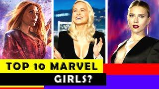 Top 10 Avengers End Game Female Cast in Real Life (All Marvel)