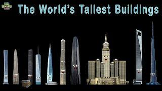 World's Tallest Buildings/Tallest Buildings in the World Size Comparison