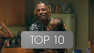 Top 10 Most streamed RICH THE KID Songs (Spotify) (15. April 2020)