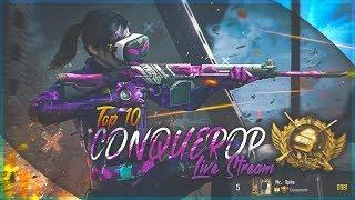 Top 10 Conqueror Live Stream  | ASIA Server | PUBG MOBILE | Mr Spike