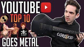 If Youtube Top 10 Viewed Videos Were Metal Riffs