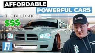Powerful Cars You Can Afford | The Build Sheet