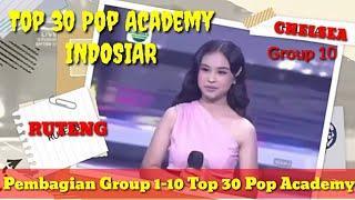 Chelsea (Manggarai NTT) di Group 10 || Pembagian Group 1-10 Top 30 Pop Academy Indosiar
