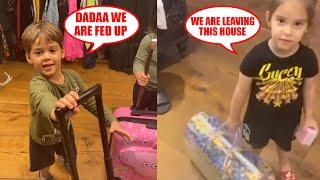 Karan Johar's CUTE Kids Yash & Roohi Are FED UP Of Him During Lockdown