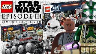Top 10 LEGO Star Wars Episode 3 Revenge of The Sith Sets That Have EVER Been Made!