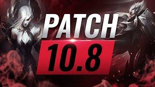 Best Champions TIER List – League of Legends Patch 10.8