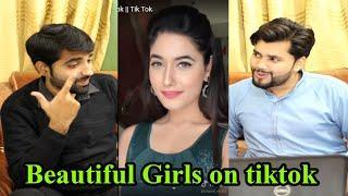 Pakistani reacts to Top 10 Indian Beautiful Girls on Tik Tok || Tik Tok