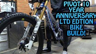 MY 10 YEAR ANNIVERSARY LTD EDITION DREAM DH BIKE BUILD and UNBOXING!