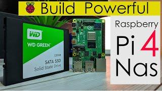 RASPBERRY Pi 4 - How To Build POWERFUL NAS | ULTIMATE Raspberry Pi 4 NAS Server Setup 2020