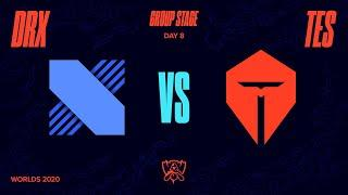 DRX vs TES | Worlds Group Stage Day 8 | DRX vs Top Esports (2020)