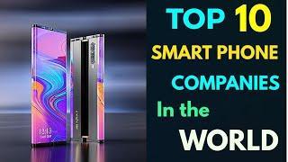 Top smartphone companies in the World | दुनियां टॉप 10 मोबाइल कम्पनी |Apple|Samsung|Huawei|BBK|Mi