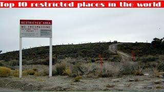 Top 10 restricted places in the world|Saud Salim
