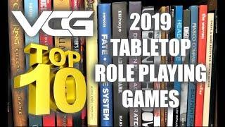 TOP 10 TABLETOP ROLE PLAYING GAMES OF 2019