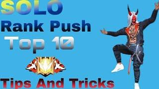 Top 10 Secret Place Free Fire    Rank Push Tips And Tricks Free Fire    Drag Gamer