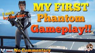 My FIRST Phantom Gameplay! - Rogue Company No Commentary