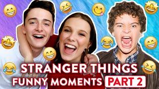 Stranger Things: Hilarious Bloopers and Funny Moments - Part 2  