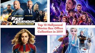 Top 10 Hollywood Movies Box Office Collection In 2019 | Avengers:End game | Captain Marvel | Trailer