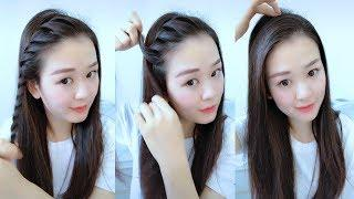Top 10 Hairstyles for School Girls Tutorial | Braided Hairstyle Transformation for Girls