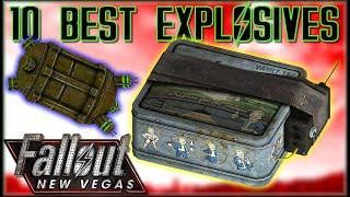 10 STRONGEST EXPLOSIVES in Fallout: New Vegas - Caedo's Countdowns