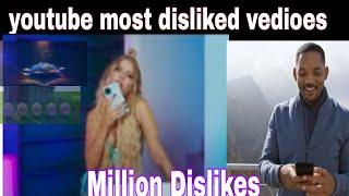 Top 10 most disliked vedioes on youtube all the time| pakistan vibes