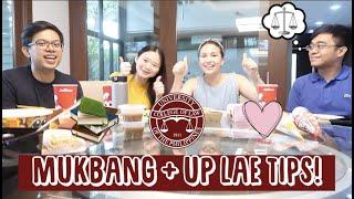MUKBANG + UP LAE TIPS | Kwentuhan with friends | Simple tips for taking the exam! | Law School Vlog