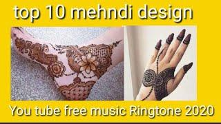 Top 10 Mehndi Design collections For Backhand 2020 | Front or back hand top mehndi design/ Ringtone