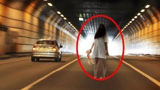 Paranormal life - 10 MYSTERIOUS Ghost Sightings Caught On Camera | Scary Video Compilation