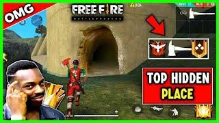 New Top Hiding Place In Bermuda Map In Free Fire || New Hiding Place In Tamil || GameTech Tamilan