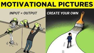 Top 50 Motivational Pictures with Deep Meaning | One Picture Million Words Motivation Part 19