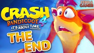 THE END! - Crash Bandicoot 4: It's About Time Gameplay Walkthrough Part 10 - Cortex Island!