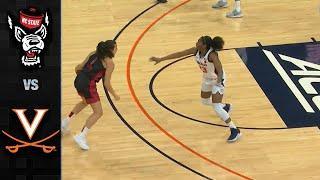 NC State vs. Virginia Women's Basketball Highlights (2019-20)