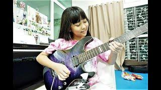 Tribute to Amazing 10 Year old Girl Guitarist Petty Vimolwan Saisathit Outtakes and Solos !