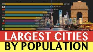 Top 10 Megacities In The World  | World's Largest Cities by Population 1950 - 2035