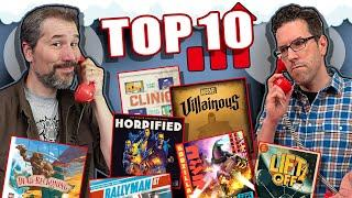 Top 10 Board Games Gaining Popularity   August 2020
