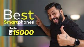 TOP 5 BEST MOBILE PHONES UNDER ₹15000 BUDGET ⚡⚡⚡ January 2020
