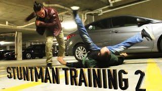 Stunt Man Training 2 | Street Fights, Wrecks, Parkour