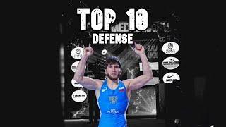 TOP 10 - Best defense in Wrestling