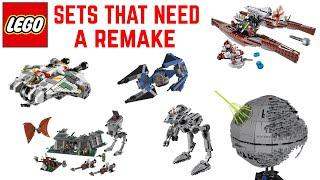 Top 10 LEGO Star Wars Sets That Need A Remake
