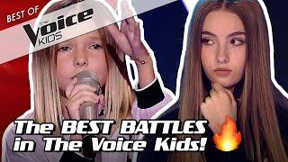 TOP 10 | The BEST BATTLES in The Voice Kids ever!