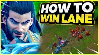 HOW TO WIN LANE EVERY GAME IN SEASON 10 (TOP LANE) - League of Legends