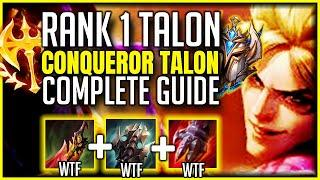The ULTIMATE Season 10 Conqueror TALON Guide - BEST Tips to WIN - Combos & Tricks l Challenger Guide
