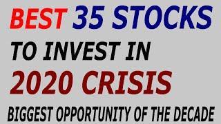 Best 35 Share to Invest In Share Market Crash 2020 | Best Stocks to Invest In 2020 | BEST STOCK |