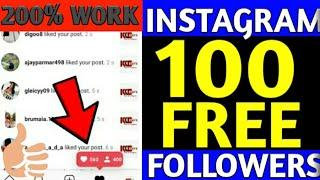 Get 100+ Free Instagram Followers In One Click Without Any Work 2020 | Instagram Followers Website