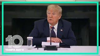 President Trump says he's been taking malaria drug to protect against COVID-19