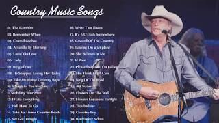 Kenny Rogers, John Denver, Alan Jackson, George Strait -Top Hits Best Country Songs 60's 70's 80's